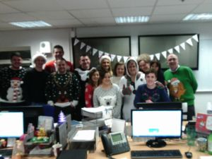 Xmas Jumper day - Fower Welch