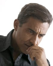 A man looking pensive and concerned. Ref: www,dreamstime.com