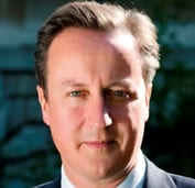 The RH David Cameron