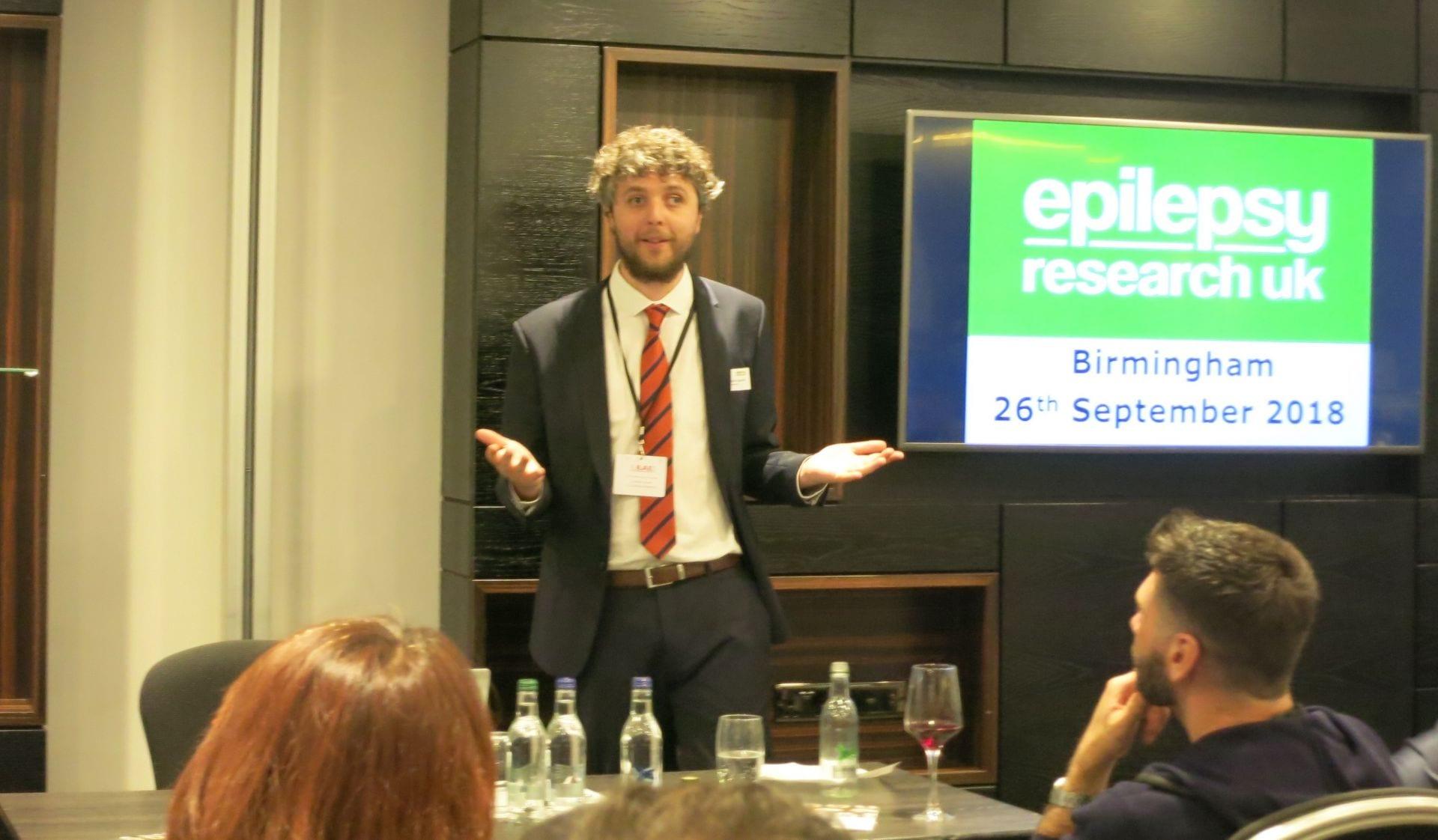 Epilepsy Research UK on Tour – Birmingham   Epilepsy Research UK