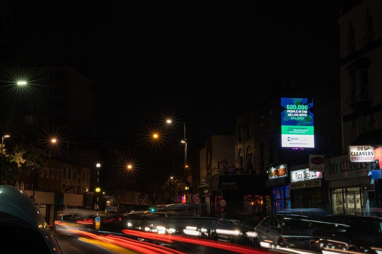 London Lites night